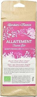 L'Herbier de France Mélange Tisane Allaitement Bio Sachet Kraft 100 g