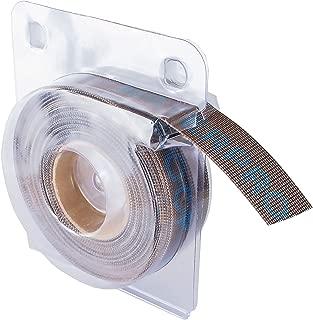 "POWERTEC 4RM2218 180 Grit Aluminum Oxide Abrasive Mesh Roll | 1"" x 20' In Self-Dispensing Clear Blister Pack"