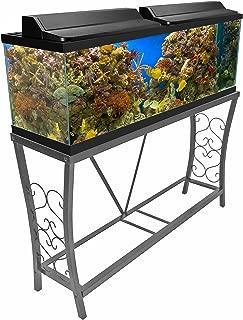 Aquatic Fundamentals 102102, Metal Aquarium Stand, Classic Scroll Design