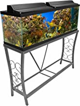 Aquatic Fundamentals 102102, Metal Aquarium Stand, Classic Scroll Design