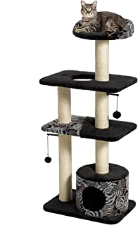 MidWest Homes for Pets Cat Tree | Tower Cat Furniture, 5-Tier Cat Tree w/Sisal Wrapped Support Scratching Posts & High Cat...