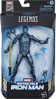 Hasbro Marvel Legends Series 6-inch Collectible Action Figure Iron Man Toy, Premium Design and 3 Accessories, Toys for Kids Ages 4 and Up