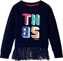 Tommy Hilfiger Kids - TH85 Mixed Media Top (Big Kids)