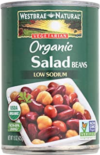 Westbrae Natural Organic Salad Beans, 15 Ounce (Pack of 12)