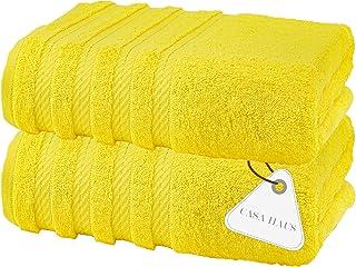 Casa Haus Air Twist Premium Cotton Towel Set 600 GSM Eco-Friendly, Super Soft, Plush - Oeko-Tex Certified -35 x 70 Inches ...