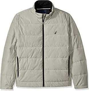 Men's Quilted Down-Blend Jacket