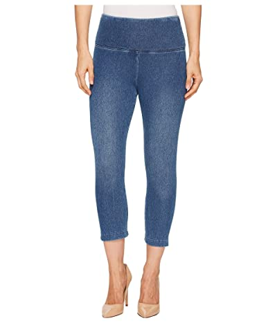 Lysse Perfect Denim Capri 6173C (Mid Wash) Women