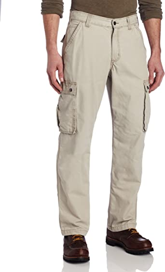 Amazon Com Carhartt Men S Rugged Cargo Pant In Relaxed Fit Carhartt Relaxed Straight Clothing
