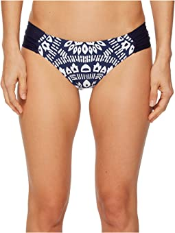 Indochine Shirred Side Hipster Bikini Bottom