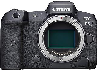 Canon EOS R5 Full-Frame Mirrorless Camera with 8K Video, 45 Megapixel Full-Frame CMOS Sensor, DIGIC X Image Processor, Dua...