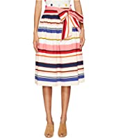 Kate Spade New York - Spice Things Up Berber Stripe Midi Skirt