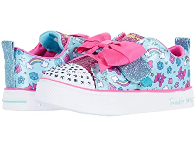 SKECHERS KIDS Twinkle Toes Twinkle Breeze 2.0 20331N (Toddler/Little Kid) (Turquoise/Multi) Girl