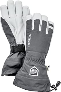 Hestra Army Leather Heli Ski and Ride Glove with Gauntlet