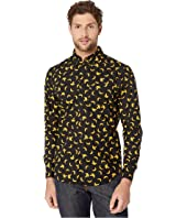Naked & Famous - Easy Shirt - Banana Print Button-Down
