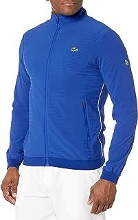 Lacoste Men's Sport Novak Djokovic Full Zip Taffeta Tennis Jacket