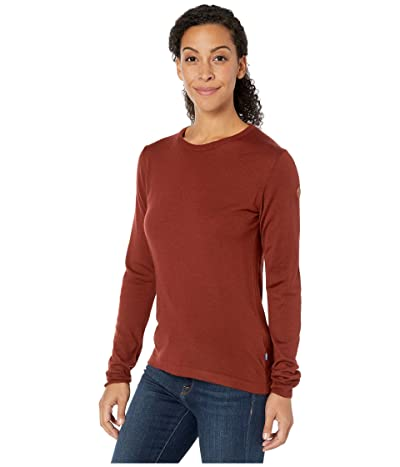 Fjallraven High Coast Lite Merino Knit (Maroon) Women