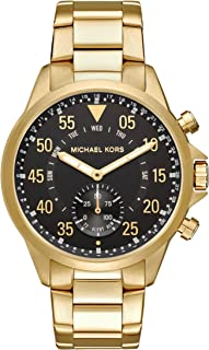 Michael Kors Men's Goldtone Gage Hybrid Watch