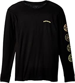 Quiksilver Kids - Next Steps Long Sleeve Top (Big Kids)