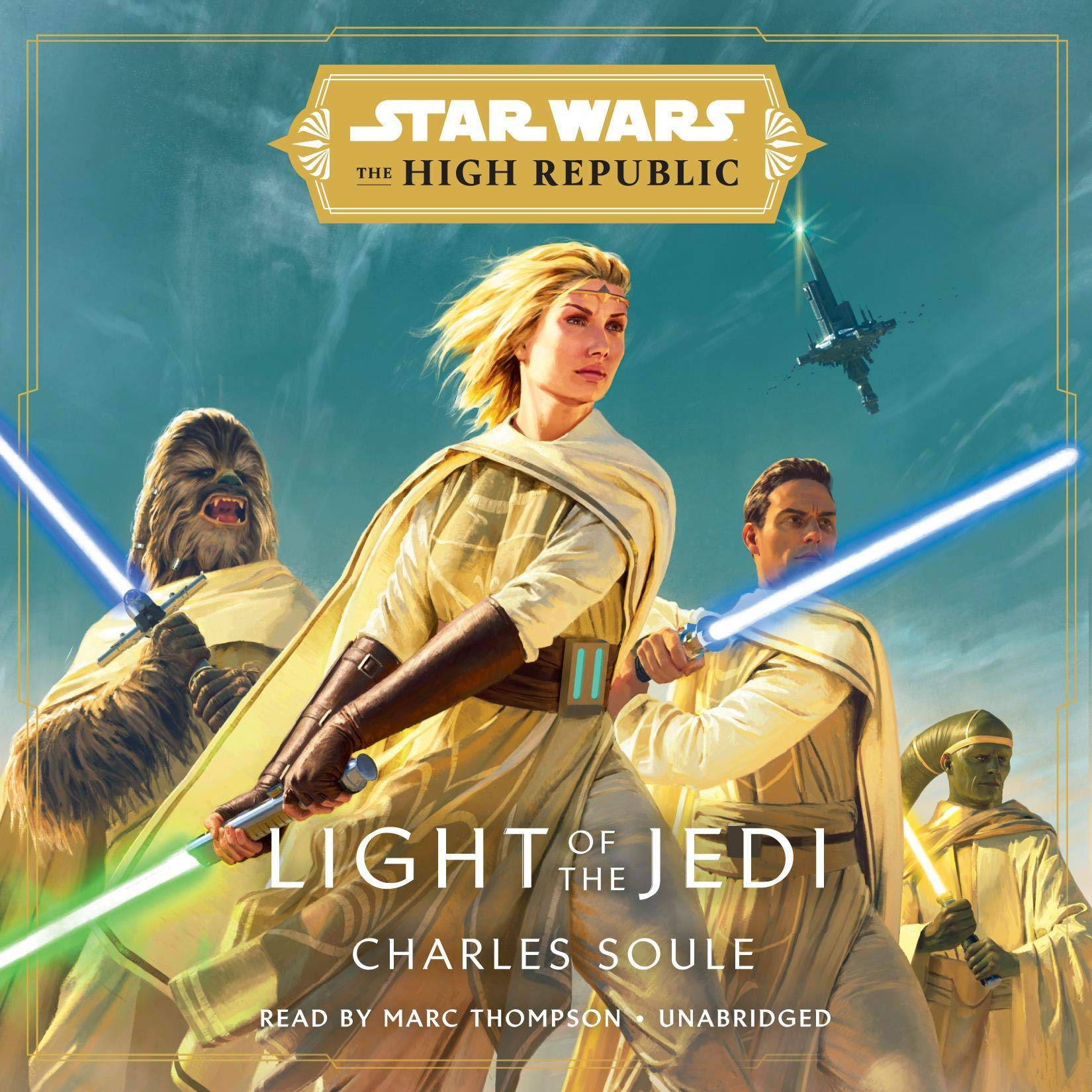 Cover image of Star Wars: Light of the Jedi by Charles Soule