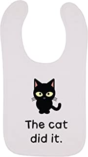 Kinacle The Cat Did It Baby Bib, 0-24 Months