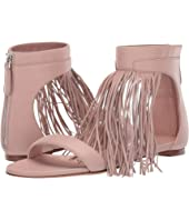 Alexander McQueen - Flat Leather Sandal with Fringe Detail