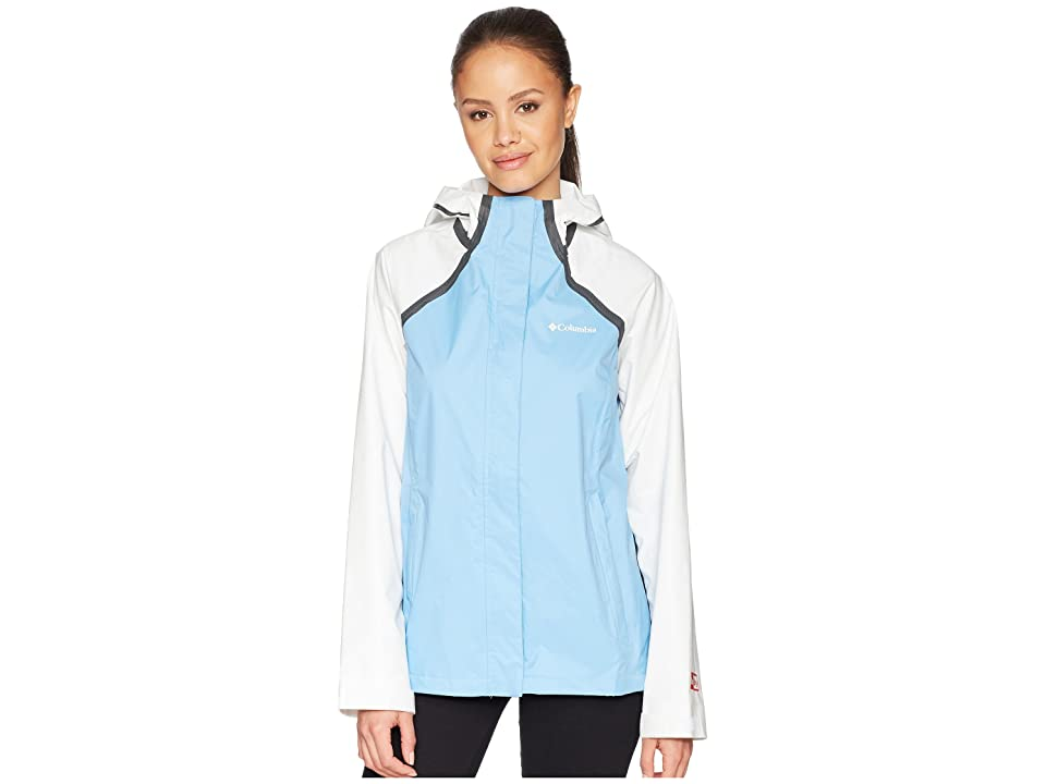 Columbia OutDry Hybrid Jacket (Blue Sky/White) Women