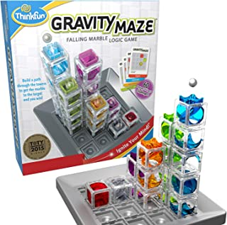 ThinkFun Gravity Maze Marble Run Logic Game and STEM Toy...