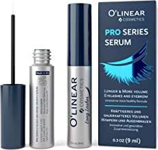 Eyelash Growth Serum - Lash and Eyebrow Enhancer - Natural Booster for Rapid Lash and Brow Growth - EU Made Nutrition and Regeneration Eyelash Serum for Extension, Thickness and Nature Look