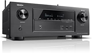 Denon X Series AVR-X2400H 7.2 Channel AV Surround Receiver with Heos (Black)