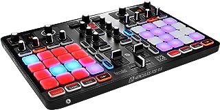 Hercules - HERCULES P32 DJ - Controlador DJ - PC / Mac - Dos decks con interfaz de audio integrada y 32 pads para hacer mezclas creativas