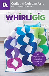 Whirligig - Graphic Baby Quilt Pattern Pack-Use a Rainbow of Solid Colors or Prints to Create this Graphic Quilt