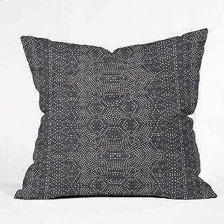 """Deny Designs Holli Zollinger Marrakeshi Denim Indoor Throw Pillow, 16"""" X 16"""""""