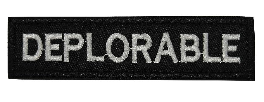 A-Lighting Deplorable Tactical Morale Patch (Black)