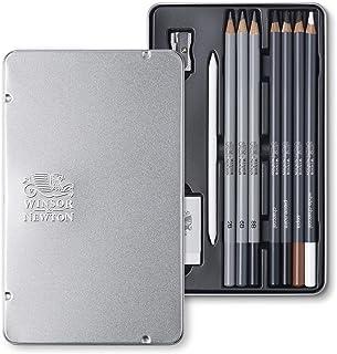 مدادهای دقیق Winsor & Newton Pencils Graphic Sketching Skenczierstifte مجموعه Skizzierstifte