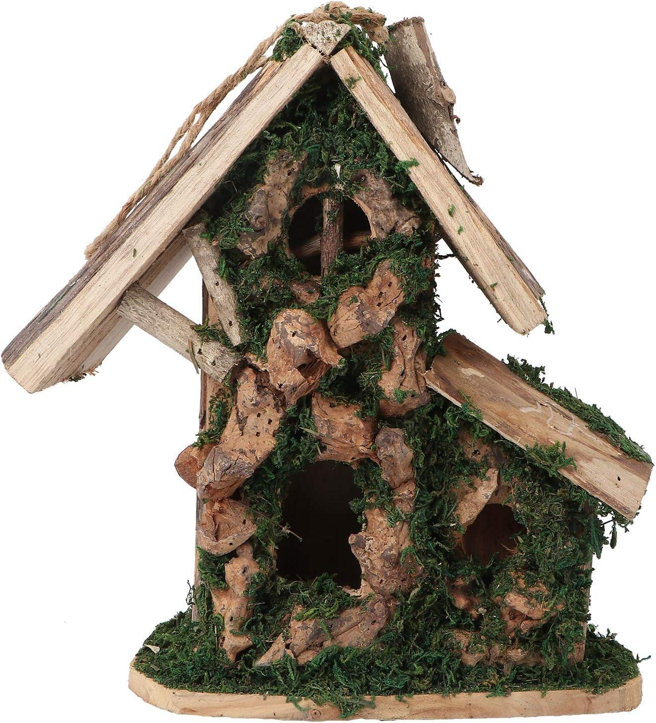 Max 70% OFF POPETPOP Wooden Bird House Pet Hanging Sleeping Ranking TOP14 Nest Cage B