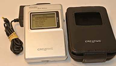 Creative Nomad Jukebox Zen Xtra 30 GB MP3 Player (Discontinued by Manufacturer)