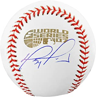 David Ortiz Boston Red Sox 2007 World Series Autographed Baseball - Fanatics Authentic Certified - Autographed Baseballs