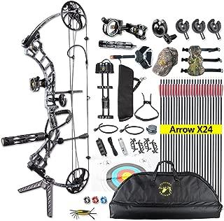 ANTSIR Trigon Compound Bow Kit for Adult,19-70Lbs 19
