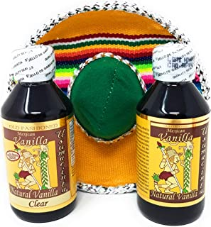 Usumacinta Pure Mexican Vanilla Gift Set (Amber, Clear)