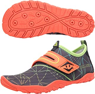 SAGUARO Chaussures Aquatique Enfant Séchage Rapide Chaussures pour Piscine et Plage Surf Sport Chaussures