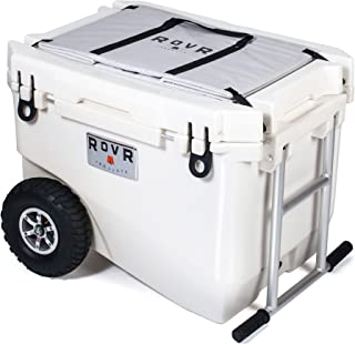 RovR Wheeled Camping Rolling Cooler with Wheels (60 qt.)