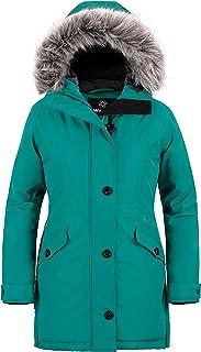 Women's Winter Hooded Coat Waterproof Warm Long Puffer...