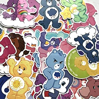 53Pcs Care Bear Cute Stickers for Decal for Snowboard Laptop Luggage Car Fridge Car-Styling Vinyl Home