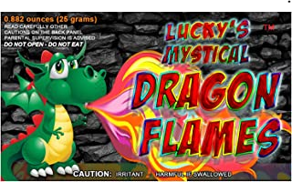 Mystical Fire Dragon Flames Flame Colorant Vibrant Long-Lasting Pulsating Flame Color Changer for Indoor or Outdoor Use 0.882 oz Packets 25 Count Box