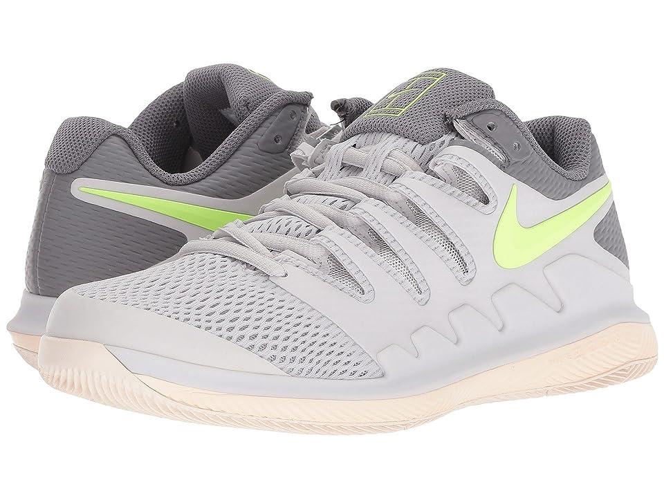 Nike Air Zoom Vapor X (Vast Grey/Volt Glow/Guava Ice/Gunsmoke) Women