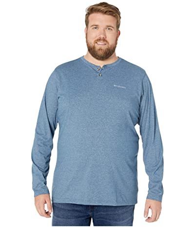 Columbia Big Tall Thistletown Parktm Henley (Dark Mountain Heather) Men