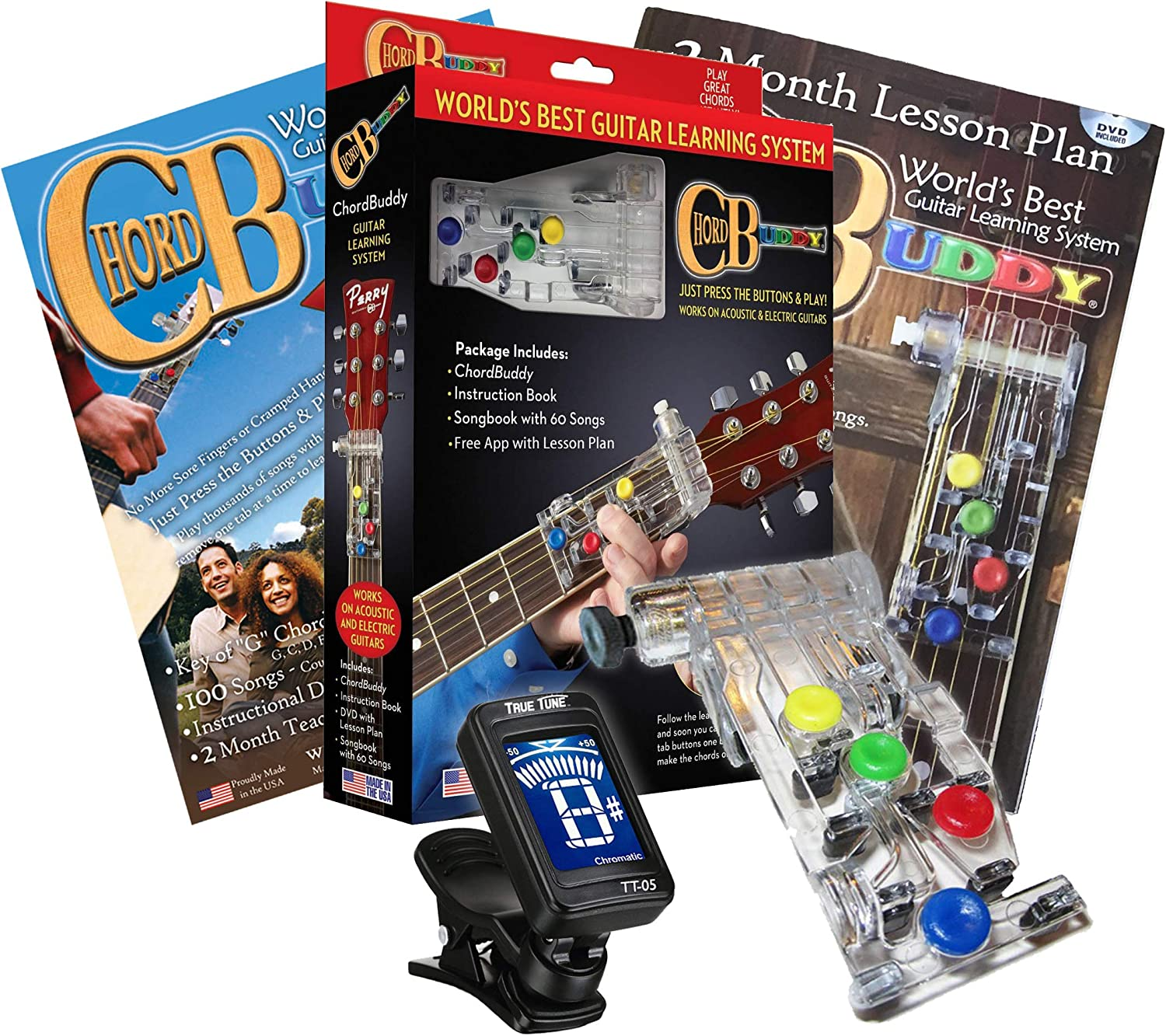 ChordBuddy Guitar Learning System Teaching Aid wit Max 72% OFF Buddy New color Chord