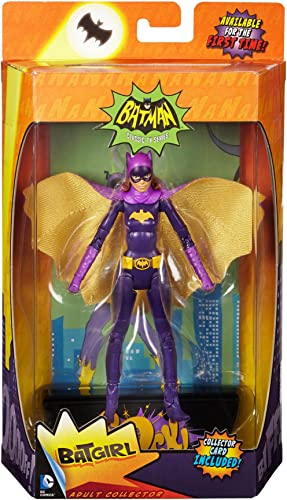 SDCC 2015 Exclusive Batman '66 Yvonne Craig Batgirl Classic 1966 TV Series Action Figure by Mattel