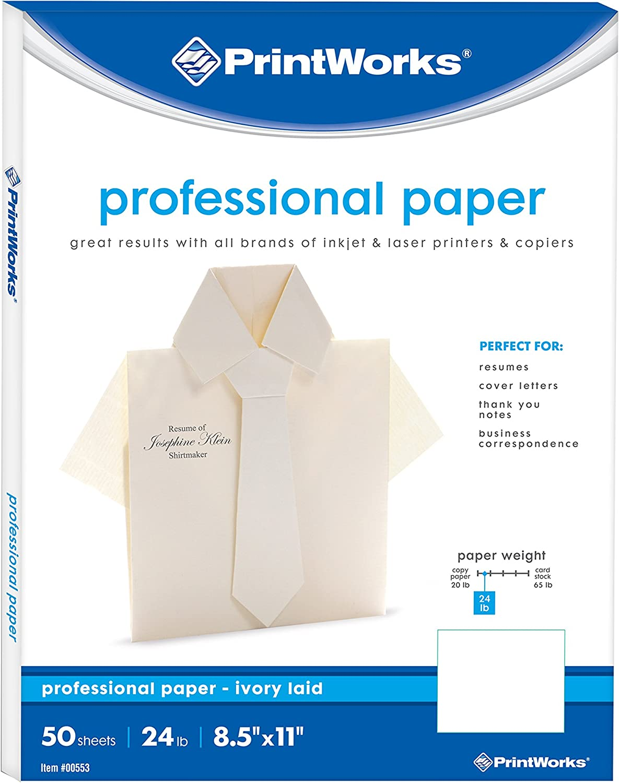 100gsm Ivory 30 sheets *SALE* A4 Executive Linen Paper