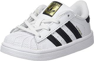 adidas Unisex Babies' Superstar Low-Top Sneakers, White (Footwear White/Core Black), 5 UK